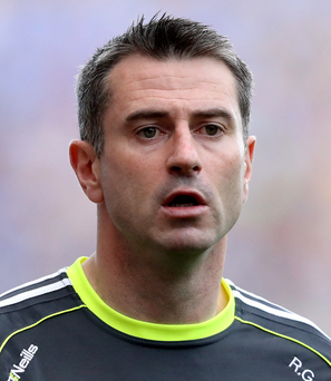 Staying put: Rory Gallagher has been kept on by Donegal