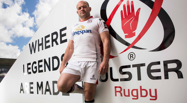 Standing tall: Rory Best is hoping to return to action as big tests lie ahead for Ulster