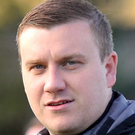 Larne manager David McAlinden