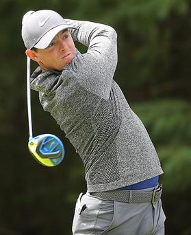 Great European hope: Rory McIlroy has found form in time for the Ryder Cup
