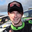 Top man: Josh Moffett heads the Bushwhacker Rally line-up
