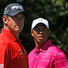 Mind games: Lee Westwood has doubted US vice-captain Tiger Woods