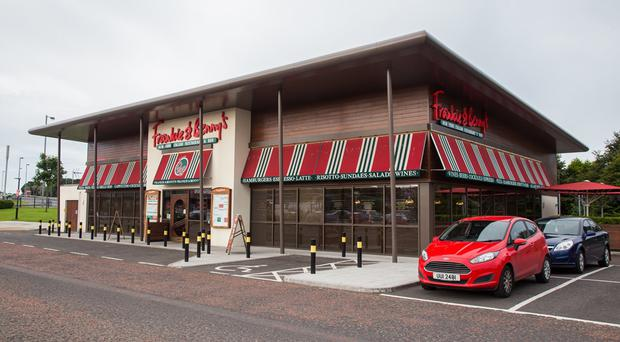 Frankie and Benny's is shutting four of its locations in Northern Ireland