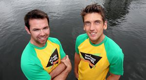 Moving on: Ulster's Olympic sailors Matt McGovern (left) and Ryan