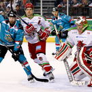 Crank it up: Derrick Walser wants the Belfast Giants to put a young Dundee Stars side under pressure from the start