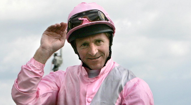 On form: Jimmy Fortune rides Spark Plug in today's big race at Newmarket