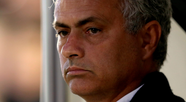 Fired up: Man United boss Jose Mourinho was in bullish form as he hit back at criticism of his management