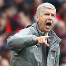Warned: Arsene Wenger has given orders to his defence