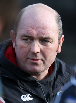 Coach's call: Ballymena's Andy Graham wants another victory