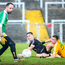 On target: Kilcoo's Ceilum Doherty scores his team's third goal against Clonduff at Pairc Esler