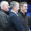 Dramatics: Jimmy Nesbitt (right) saw Coleraine's late revival