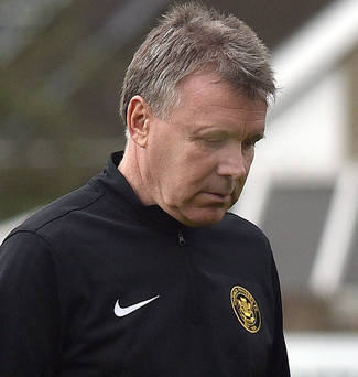 Kieran Harding stepped down as Carrick Rangers manager in the aftermath of Saturday's 3-0 home defeat to Dungannon Swifts