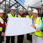 The team at TAL marks the start of work at a new Macmillan Centre at Altnagelvin