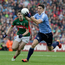 On show: Dubs' Bernard Brogan was all over advertising, yet did little in the All-Ireland final