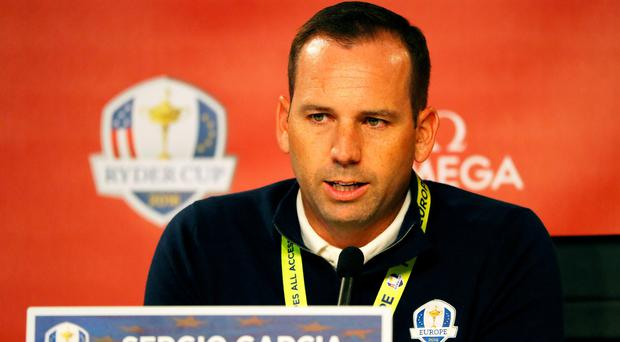 Experienced head: Sergio Garcia will play in his eighth Ryder Cup