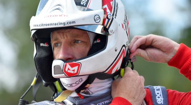 Winning run: Kris Meeke tasted success in Portugal and Finland