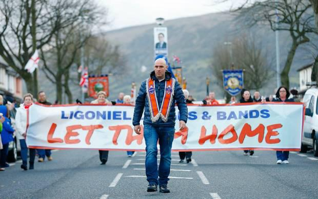 The Orange Order has protested over the restriction for three years.