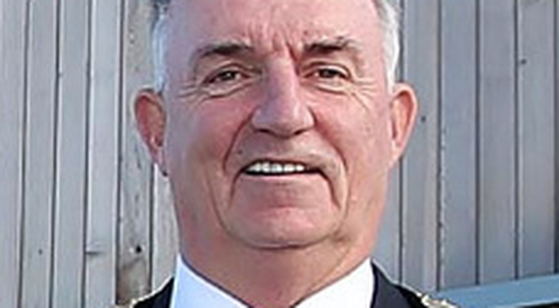 Councillor Trevor Wilson, Chair of Mid Ulster District Council