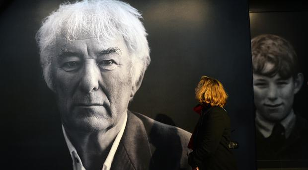 PACEMAKER BELFAST 29/09/2016 The official opening of Seamus Heaney HomePlace, a new arts and literary centre marking the life and work of the Nobel Laureate at his home town Bellaghy on Thursday. Photo Colm Lenaghan/Pacemaker Press