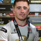 Home comfort: Paddy Jackson set to stay at the Kingspan