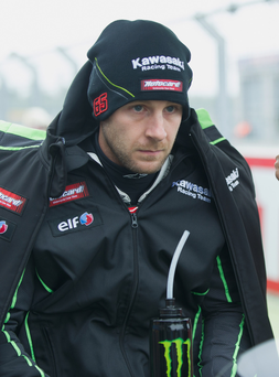 Right track: Jonathan Rea is targeting more success