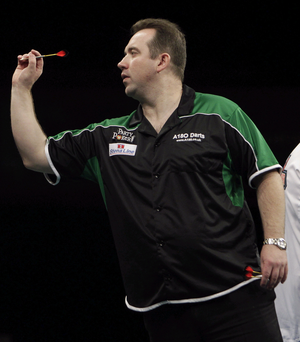 History Maker: Brendan Dolan is relishing making a return to the World Grand Prix