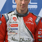 Crashed out: Kris Meeke suffered a puncture