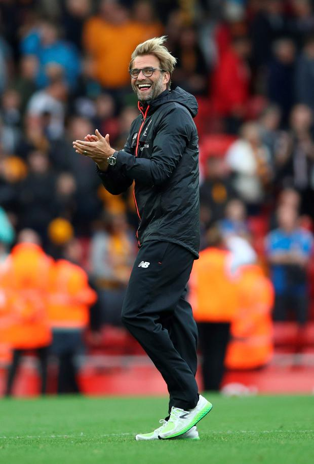 Sticking around: Jurgen Klopp