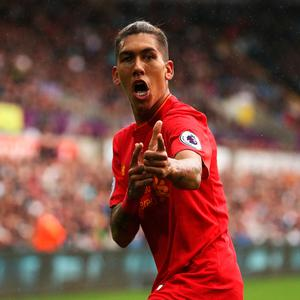 Roberto Firmino. Photo by Julian Finney/Getty Images