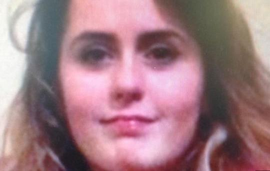 Niamh was last seen on Friday, September 29. Pic: PSNI.