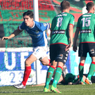 Head boy: Jimmy Callacher celebrates netting Linfield's late winnerable