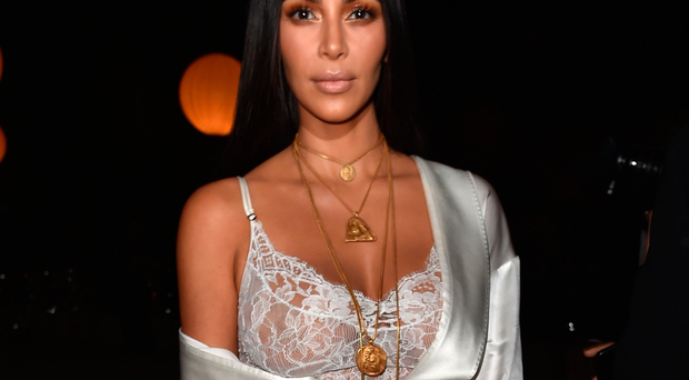 Kim Kardashian attends the Givenchy show as part of the Paris Fashion Week Womenswear Spring/Summer 2017 on October 2, 2016 in Paris, France. (Photo by Pascal Le Segretain/Getty Images)