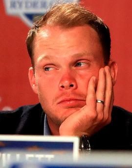 Poor show: Danny Willett was unhappy with his performance