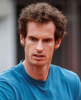 Andy Murray is currently competing in the China Open