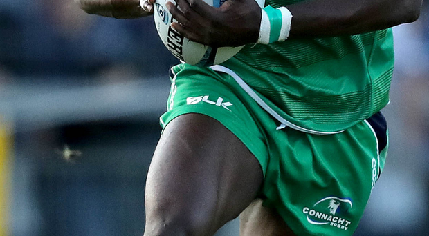 On form: Niyi Adeolokun will pose a big threat to Ulster