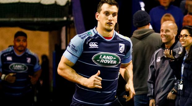 Big boost: Sam Warburton will return within a month