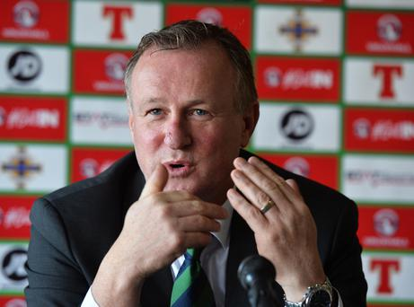Michael O'Neill is determined Northern Ireland will remain unbeaten at home