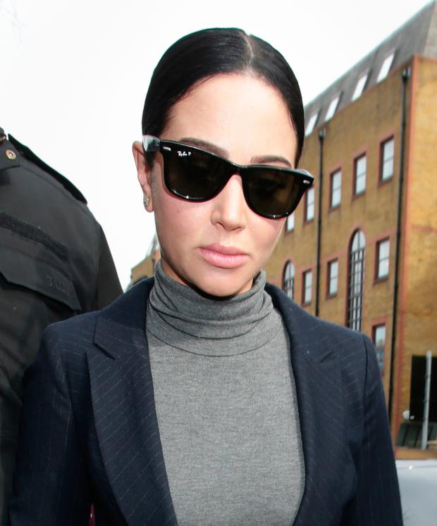 File photo dated 04/04/16 of Tulisa Contostavlos as Fake Sheikh Mazher Mahmood and his driver Alan Smith have been found guilty at the Old Bailey in London, of conspiring to pervert the course of justice in the case of the pop star. PA
