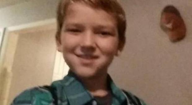 Kayden Culp, 10, is believed to have been playing in a field with two other boys when one doused him with petrol and set him on fire