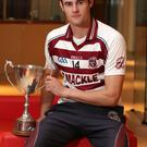 Prize guy: Chrissy McKaigue says Slaughtneil owe success to those who were not as fortunate