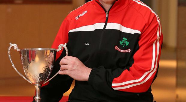 Hands on: DD Quinn is eyeing Ulster Club joy with Loughgiel
