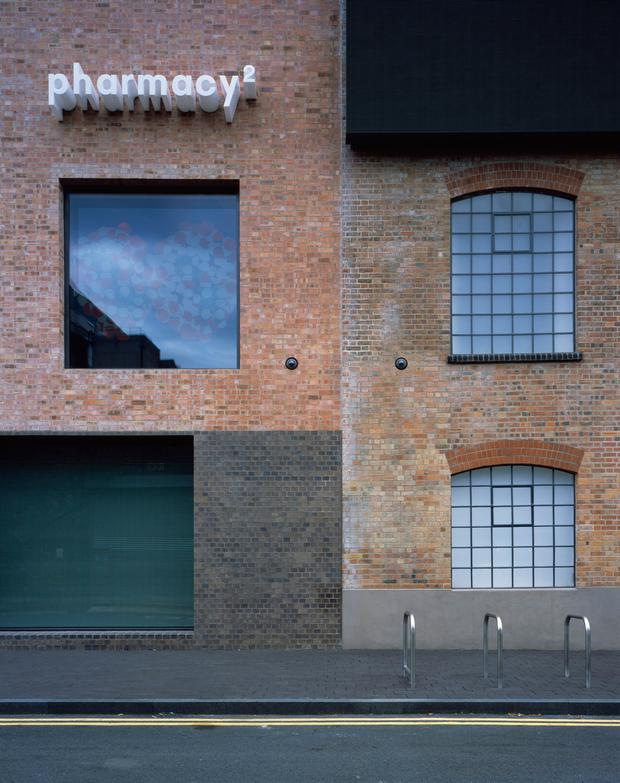 Damien Hirst's Newport Street Gallery in London, designed by Caruso St John Architects, which has won the Riba Stirling Prize 2016, the UK's top architecture award. PA