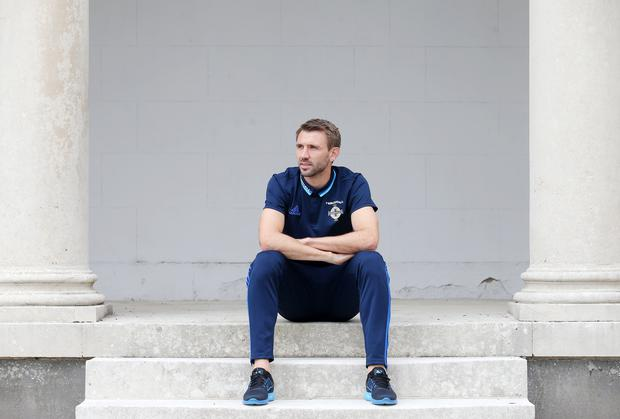 Stepping up: Gareth McAuley wants Northern Ireland to show a ruthless edge against San Marino before travelling to Hannover to face Germany