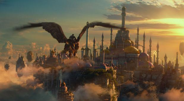 A scene from Warcraft: The Beginning. Photo: PA Photo/Universal