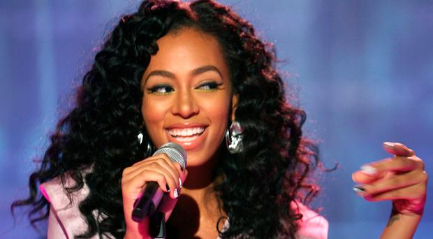 Compelling listening: Solange Knowles