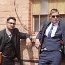 Criminal intent: Michael Pena and Alexander Skarsgard in War On Everyone. Photo: PA Photo/Icon