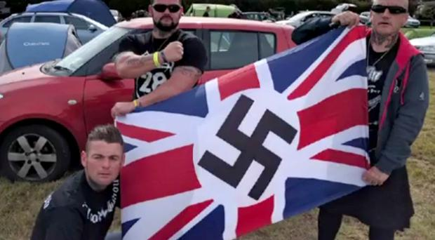 Blood and Honour rally took place in Haddenham, near Ely, to mark the anniversary of the death of founder Ian Stuart Donaldson