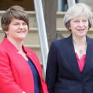 Arlene Foster met with Prime Minister Theresa May last week