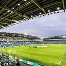 A view of the new Windsor Park on its opening night