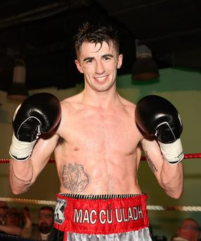 High five: Tyrone McCullagh dominated on Saturday night